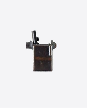 """Фрагмент настольной бензиновой зажигалки """"Пушка"""" (NEGBAUR-N.Y., USA)"""