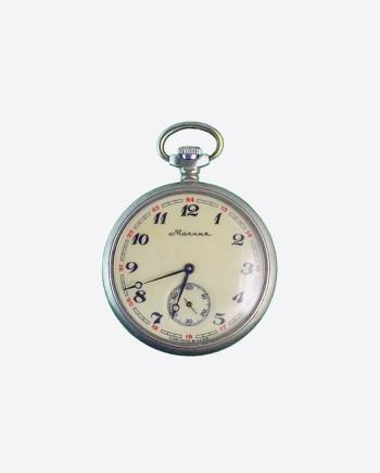 Механические карманные часы Молния (Локомотив), ЧЧЗ, СССР