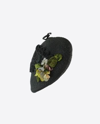Женская соломенная шляпка, 1950-е гг., СССР