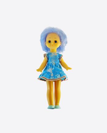 Кукла с голубыми волосами, ДФИ, 1980-е гг.