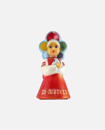 """Резиновая кукла """"Катюша-XII ВФМС Москва 85"""", Донецкая фабрика игрушек, УССР."""
