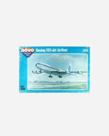 "Сборная модель Boeing 707-321 ""Jet Clipper Invincible"",1959. F349 - ДФИ, СССР, 1986г."
