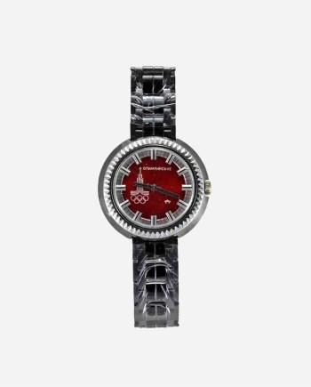 """Советские часы Ракета """"Олимпийские"""", механика, Петродворцовый з-д, 1980 г."""